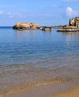 Calypso Hotel beach